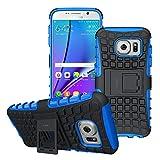 WLDDWL Custodia Samsung Galaxy S7, Cover Protettiva Supporto Armor Case Shock-Absorption B...