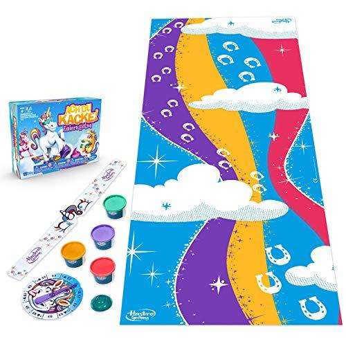 Hasbro E2645398 ACH du Kacke: Einhorn-Edition, lustiges Kinderspiel, Multicolor