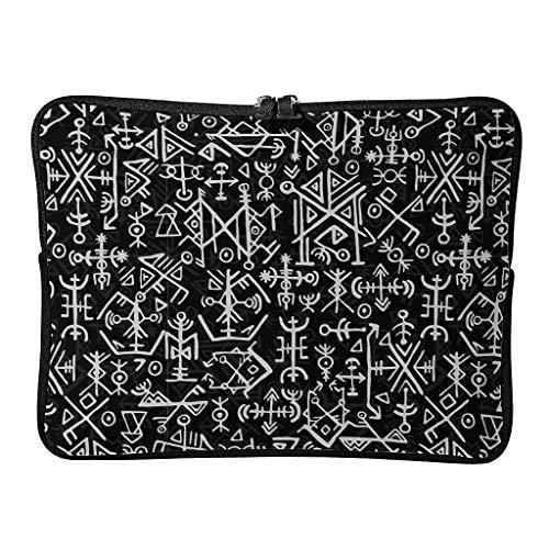 Normal Viking Laptoptaschen Klassisch Wiederverwendbar - Laptoptasche Geeignet für Geschäftsreise white6 13 Zoll