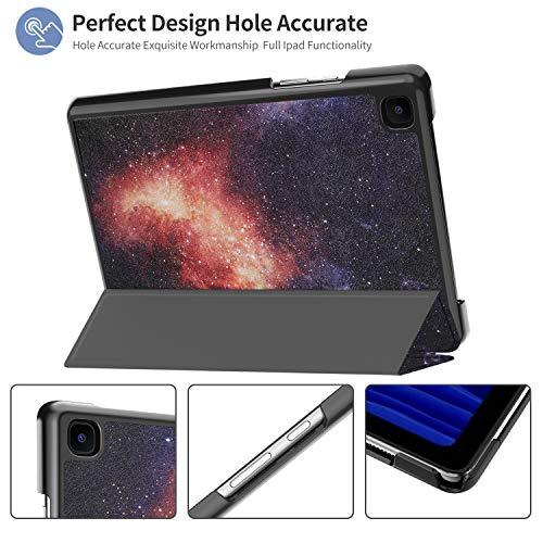 IVSO Hülle Kompatibel mit Samsung Galaxy Tab A7 10.4 2020, Schlank Slim Hülle Schutzhülle Hochwertiges PU mit Standfunktion, Samsung Galaxy Tab A7 T505/T500/T507 10.4 Zoll 2020, CH-23