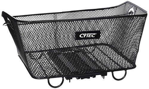 Cytec Gepäckträgerkorb Carrymore Fahrradkorb, Schwarz, One Size