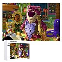 木製パズル1000ピーストイストーリー3ベア ジグソー子供のための大人のパズルゲームおもちゃを商品のサイズ(75cmX50cm)
