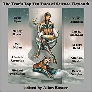 The Year's Top Ten Tales of Science Fiction 6 cover art