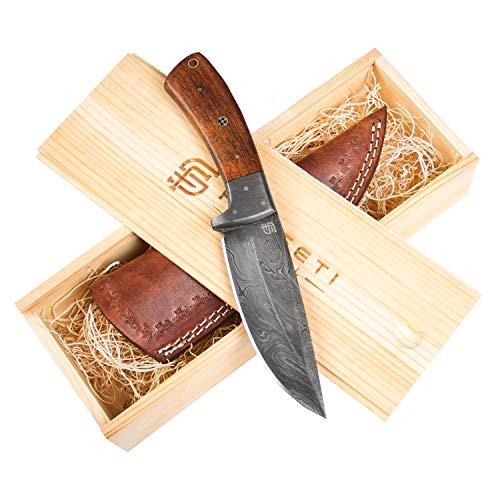 Forseti Steel Bolognesi Damascus Steel Knife
