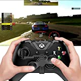 Xbox One Mini Steering Wheel, Xbox One Controller Add-on Replacement Accessories for All Xbox Racing...
