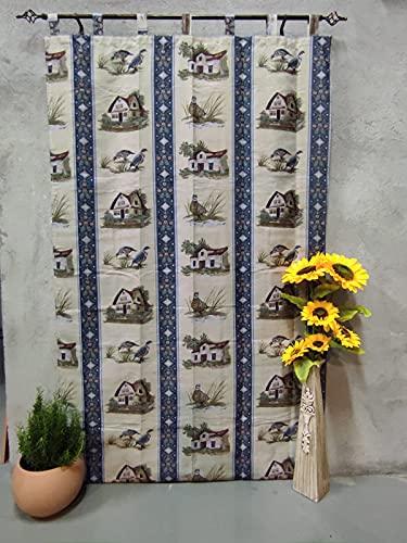 Cortinas alpujarras de travillas casona de perdices para Puertas o Ventanas Interior y Exterior del Hogar.