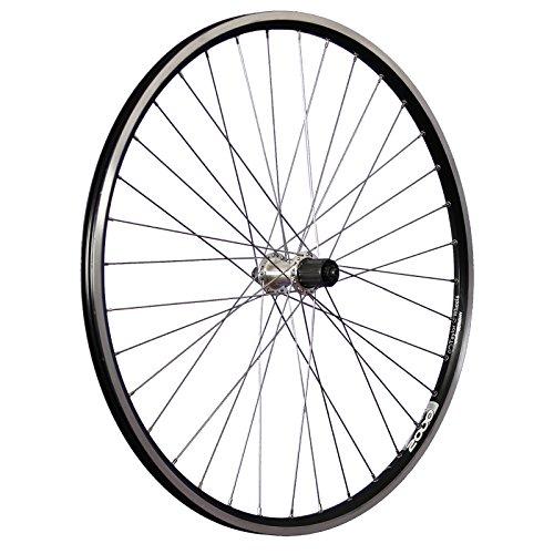 Taylor-Wheels 28 Pollici Ruota Posteriore Bici ZAC2000 7-10 Vel. Nero/Argento