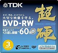 TDK 8cmDVD-RW 60分記録 超硬 スマートケース入り 3枚パック DRW60HC3A
