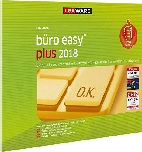 Lexware büro easy plus 2018 Jahresversion (365-Tage) FFP