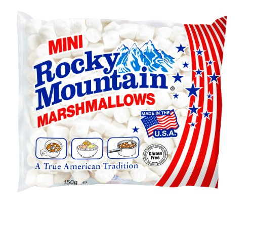 Rocky Mountain Marshmallows Minis 150g (1 x 150 g)
