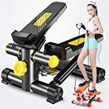 L-com Mini-Stepper mit Widerstandsbändern Robustes und sicheres Laufband mit bequemen Fußpedalen