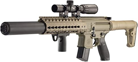 Sig Sauer MCX .177 Cal Co2 Powered (30 Rounds) 14x 24mm Scope Air Rifle, Flat Dark Earth..