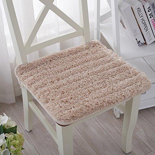 Kele Moderne minimalistische dikke pluche zitkussen/kantoor van het warme anti-slip kussen 45x45cm(18x18inch) C