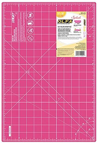 OLFA 1132643 Rotary Cutting Mat, Multicolor