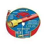 Jackson 4009100A Heavy Duty Rubber Hot Water Hose, 3/4-Inch x 100-Foot