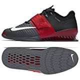 Nike Romaleos 3 Men's Weightlifting Shoes,Red/White/Grey/Black, 12 US