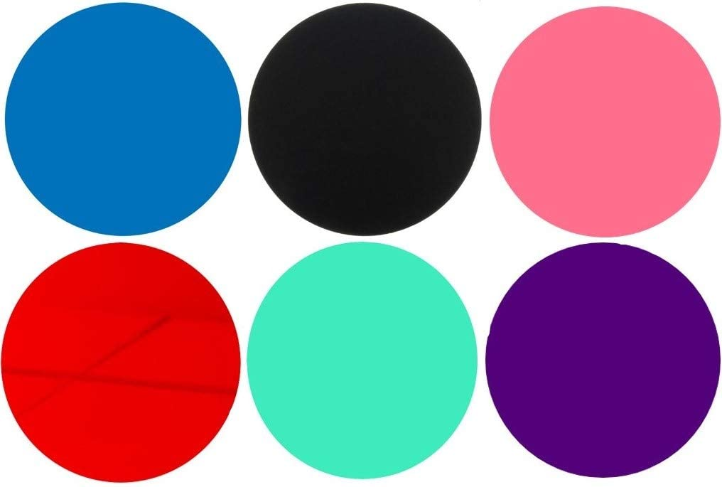 100 Laser Cut Color Acrylic Sales for sale Blank specialty shop Plexig Round Edge Smooth Discs