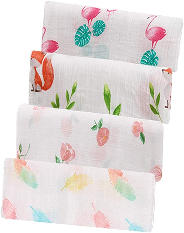 Arrow Baby Muslin Swaddle Blankets Baby Swaddle Blanket For Newborns Pack Of 4