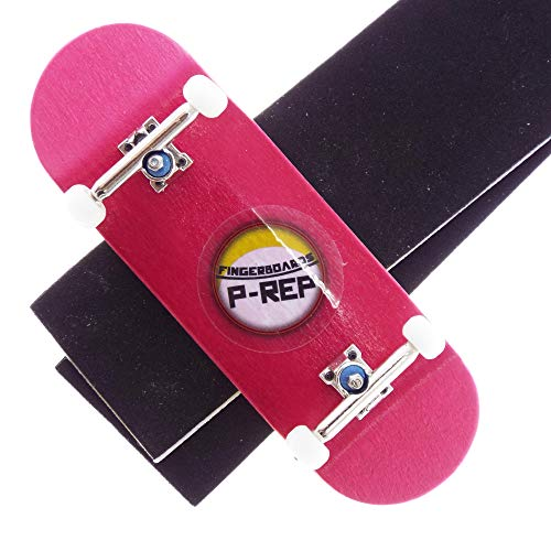 P-REP Solid Performance Complete Wooden Fingerboard 32mm x 100mm Dyed (Pink)