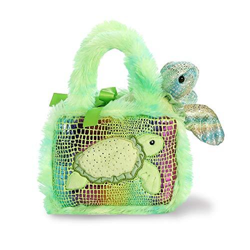 Aurora- Fancy PAL Bolso con Tortuga Verde Peluches y muñecas, Color (32827)