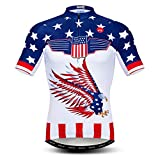 Cycling Jersey for Men Tops Summer Racing Cycling...