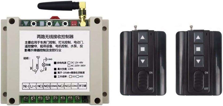 Davitu Remote Controls - Max 67% OFF AC220V 380V 250V Max 64% OFF Wireless 2CH RF