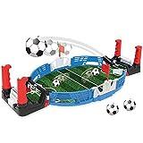 Liu Yu·casa creativa Mini Mesa de Futbolín Juegos de Mesa de Fútbol para Niños Adultos