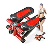 YFFSS Sunny Health and Fitness Verstellbare Mini-Stepper-Fitnessgeräte Steppmaschine mit...