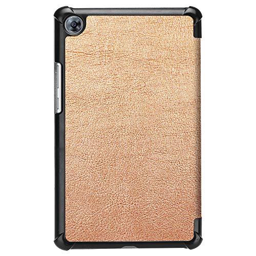 Hülle für Huawei MediaPad M5 8.4 Zoll Schutzhülle Tablet Smart Cover mit Auto Sleep/Wake, Standfunktion und Touchpen Gold - 3