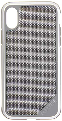 iPhone X, iPhone Xs Case, X-Doria Defense Lux - Military Grade Drop Tested, Anodized Aluminum, TPU, and Polycarbonate Protective Case for Apple iPhone X, iPhone Xs, iPhone 10 (Grey)