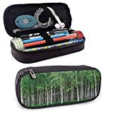 XCNGG Forest Pens and Pencils Case, Swedish Summer Landscape for Student Office College Middle School High School 8'x3.5'x1.5'