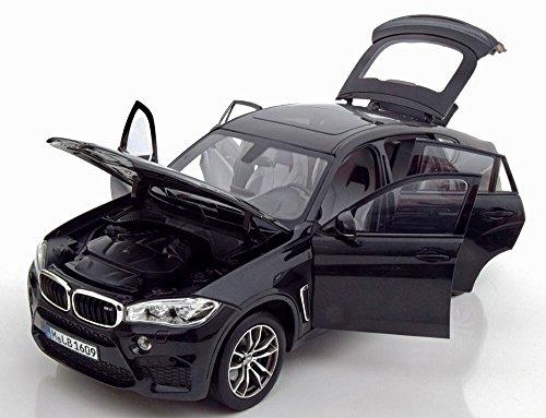 Original X6 M (F86) Miniatur Modellauto Maßstab 1:18 Black Sapphire metallic