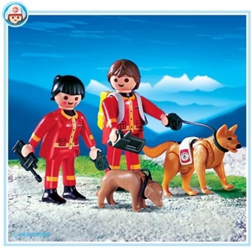 PLAYMOBIL 4227 Perros de Rescate