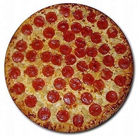 Hot Pepperoni Pizzaöfen Bäcker Dekor Runde PC Mouse Pad Mat Mousepad Neu!