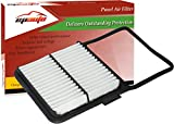 EPAuto GP159 (CA10159) Replacement for Toyota Extra Guard Rigid Panel Engine Air Filter for Prius (2004-2009); Suggest Replace with Cabin Air Filter CP846 (CF9846A)