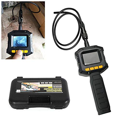 Endoskopkamera Digital Inspektionskamera 1M Hand Endoskop Kamera Wasserdicht 2.4 Zoll-LCD-Bildschirm Boreskop Video Kamera für Lüftungsrohr Maschinenausrüstung 640 x 480 Auflösung