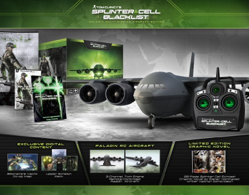 Tom Clancy's Splinter Cell Blacklist Paladin Multi-Mission Aircraft Edition - Xbox 360 by Ubisoft