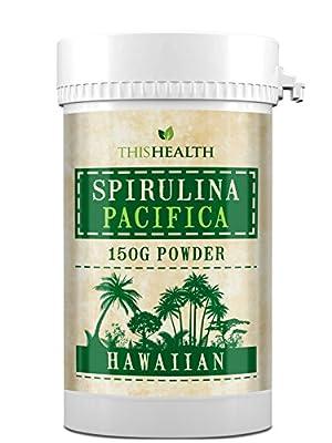 Spirulina powder. 150g of Premium Hawaiian Spirulina Pacifica Powder from chlorella-World