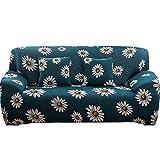 WXQY Funda de sofá elástica geométrica para Sala de Estar,Moderna Funda de sofá de Esquina combinada,Funda de sofá Antideslizante para protección de Mascotas A8 de 3 plazas