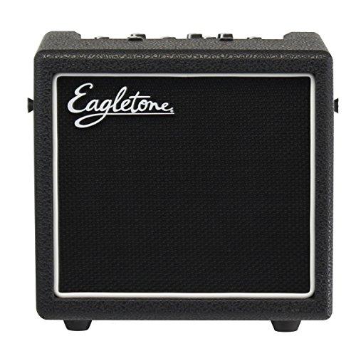 Eagletone Aero 8 V2 modelado de amplificador de guitarra Negro 8W