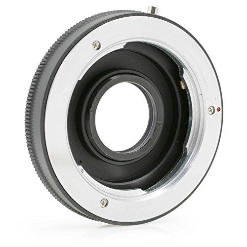 Quenox Objektiv-Adapter mit Korrekturlinse für Minolta-SR-Objektiv an Nikon-F-Kamera