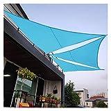 OZYN Toldo Vela, Triangular Impermeable Protección Solar Vela Solar para Patio, Exteriores, Jardín, Terraza Y Balcón (Size : 3x4x5m)