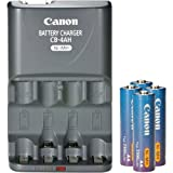 Canon CBK4-200 Rechargeable Battery and Charger Kit for PowerShot Cameras