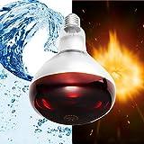 FYSH E27 Fuente de luz 100W 150W 175W 250W LED Inteligente for Mascotas Aves Calefacción lámpara AC110-240V (Color : 175W)
