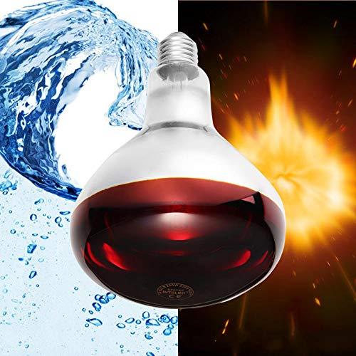 NHDY E27 100W 150W 175W 250W Infrarouge Intelligent LED Lampe chauffante de volaille d'ampoule préférée Propre AC110-240V 0913 (Color : 150W)