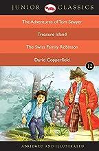 Junior Classic Book 12 (The Adventures of Tom Sawyer, Treasure Island, The Swiss Family Robinson, David Copperfield) (Juni...