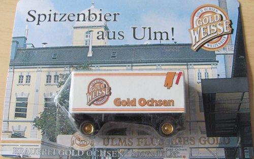 Gold Ochsen Nr.02 - Ulms flüssiges Gold - Hänger