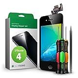 GIGA Fixxoo iPhone 4 Remplacement d'écran Kit Complet LCD Noir; avec écran Tactile,...