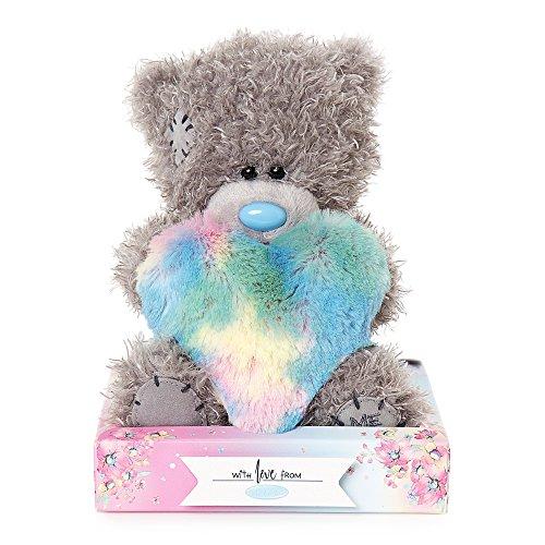 Me To You , mit Regenbogen-Herzen Tatty Teddy Bär