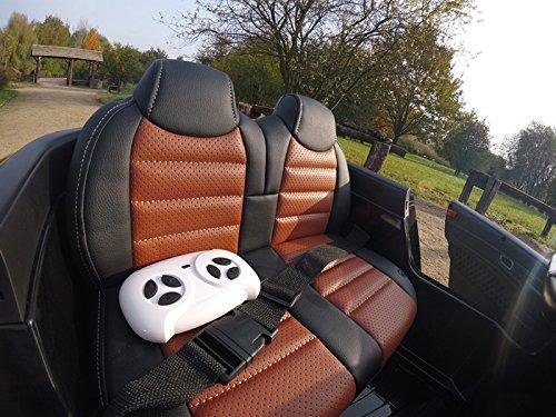 RC Auto kaufen Kinderauto Bild 3: Mercedes-Benz Kinderauto SL65 AMG Coupe Elektroauto Kinderfahrzeug Ledersitz (schwarz)*